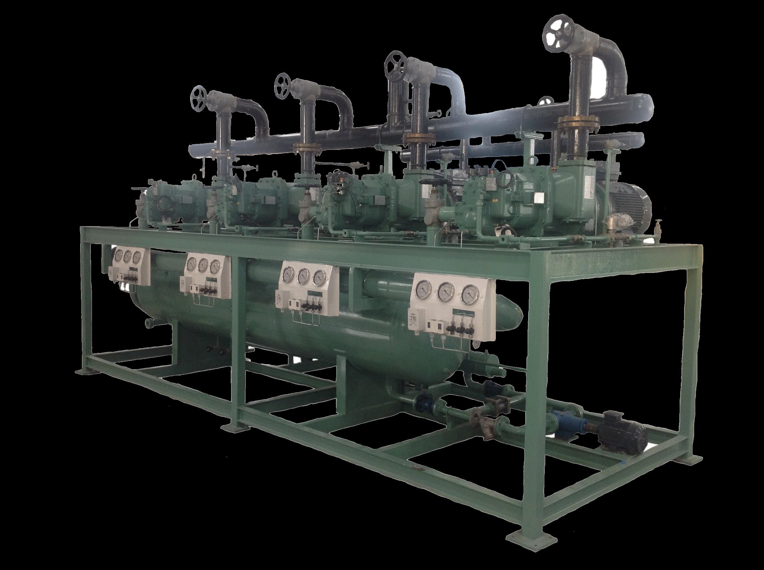Screw Compressor Rack  U2013 Indusref Com  Indus Refrigeration